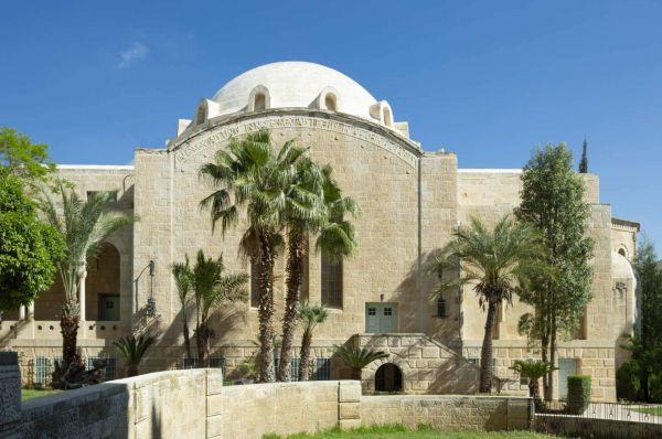 בית מלון שלוש הקשתות ימקא בירושלים