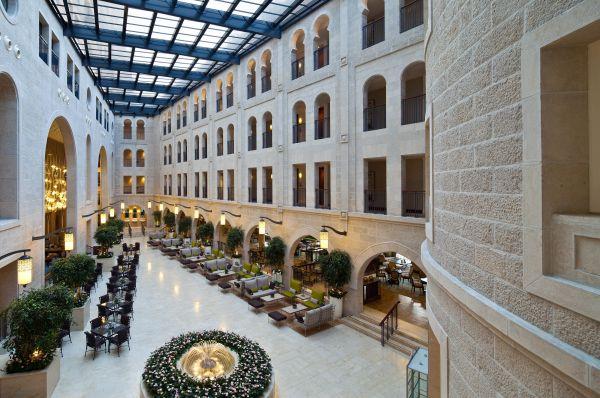 отель Вальдорф Астория Иерусалим и Иудея