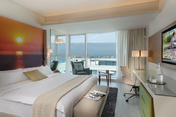 בית מלון לאונרדו פלאזה בנתניה ומישור החוף - אקזקיוטיב פונה לים