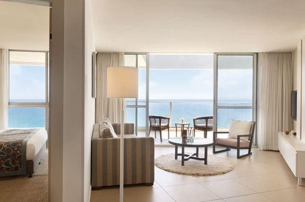 בית מלון יוקרתי רמדה נתניה ומישור החוף