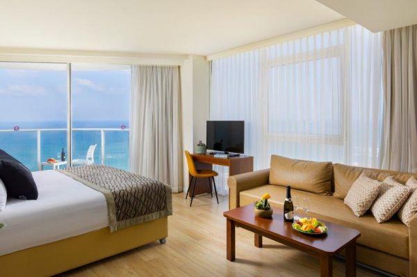 בית מלון רמדה חדרה נתניה ומישור החוף
