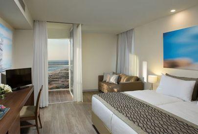 малон  Ramada Resort Hadera Beach в  Нетания и побережье - Номер Делюкс