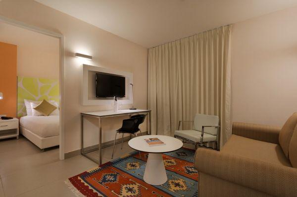 בית מלון אירוס המדבר בדרום הארץ