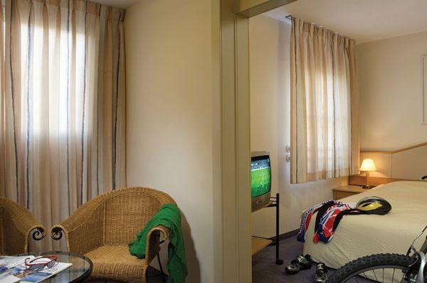 בית מלון ישרוטל פונדק רמון - חדר סטודיו