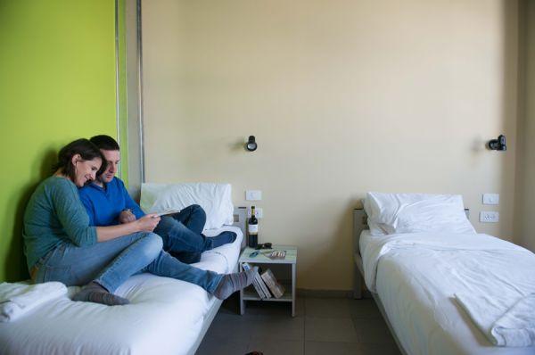 отель Абрахам Хостел Тель Авив