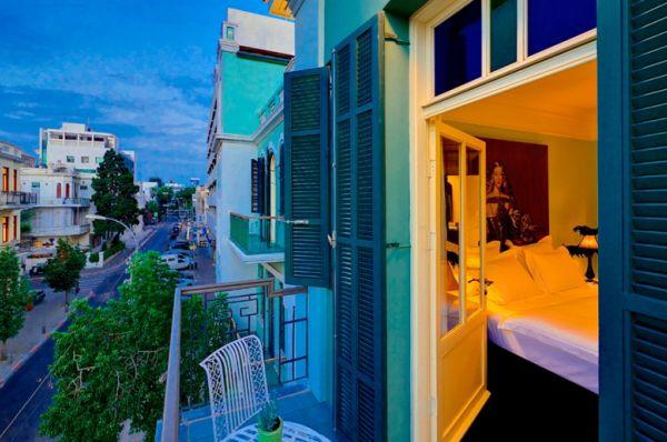 תל-אביב והמרכז עלמה בוטיק מלון