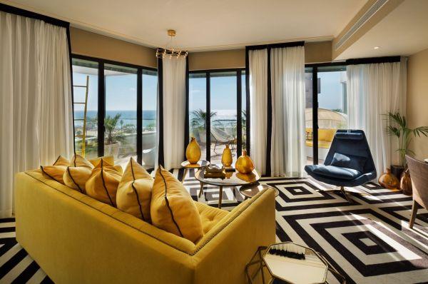 בראון ביץ' האוס מלון בוטיק תל-אביב והמרכז