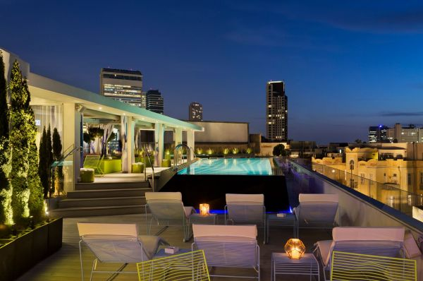 תל-אביב והמרכז פולי האוס בוטיק מלון
