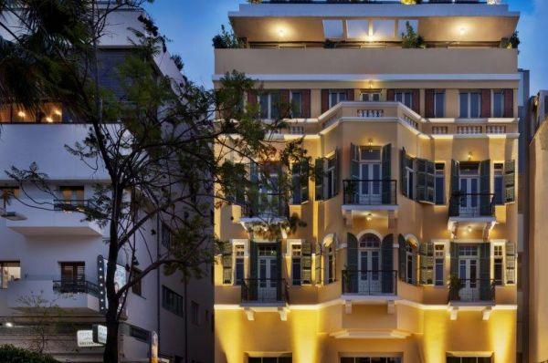 Сэм&Блонди гостиница бутик в Тель Авив