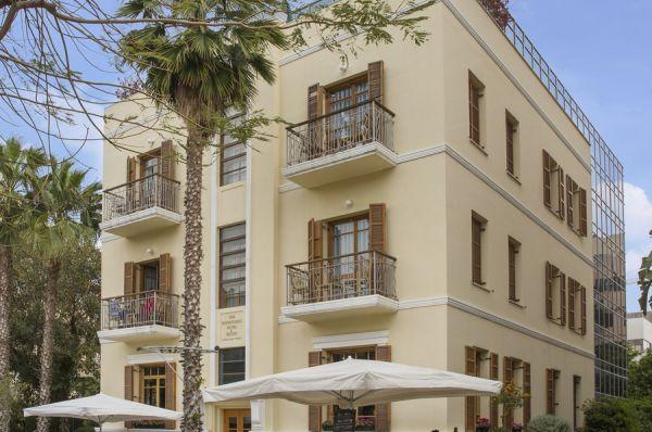 רוטשילד  מלון בוטיק תל-אביב והמרכז