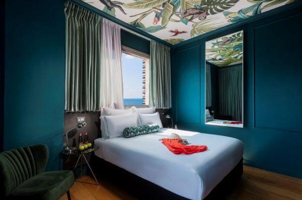 гостиница в  Тель Авив Браун Сисайд - Номер Классик с частичным видом на море