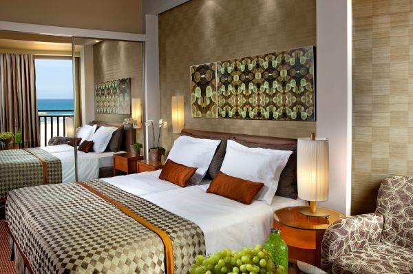 בית מלון דן אכדיה - חדר דלוקס נוף לים