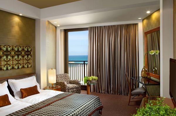 בית מלון דן אכדיה תל-אביב והמרכז - חדר דלוקס נוף לים