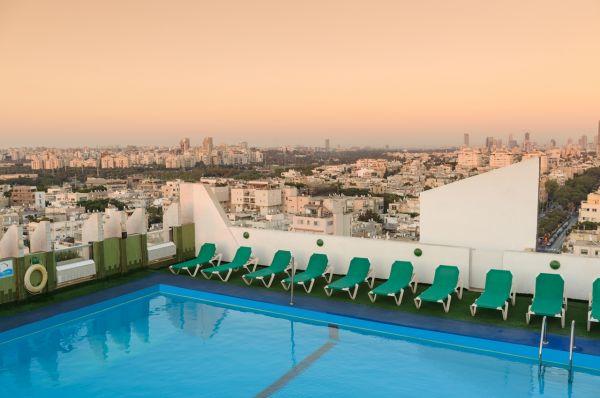 בית מלון גרנד ביץ בתל-אביב והמרכז