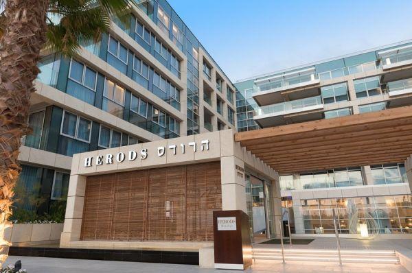отель Херодс Герцлия Тель Авив