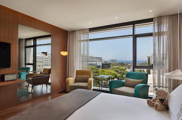 בית מלון ישרוטל פאבליקה תל-אביב והמרכז - חדר פאבליקה נוף לים