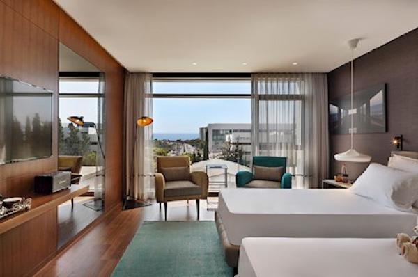 בית מלון תל-אביב והמרכז ישרוטל פאבליקה - חדר פאבליקה נוף לים