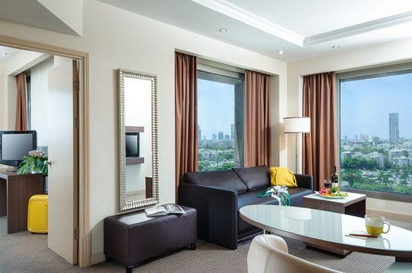 отель Леонардо Сити Тауэр Тель Авив - Номер-люкс Junior