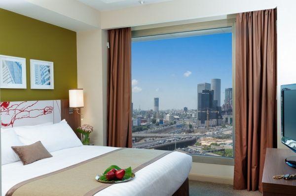 בית מלון תל-אביב והמרכז לאונרדו סיטי טאואר - סוויטה ג'וניור