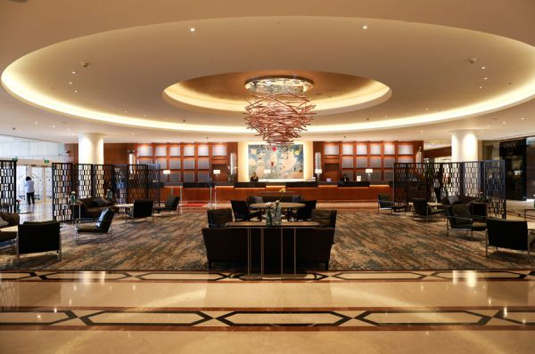 отель люкс Интерконтиненталь Давид 5 звезд Тель Авив