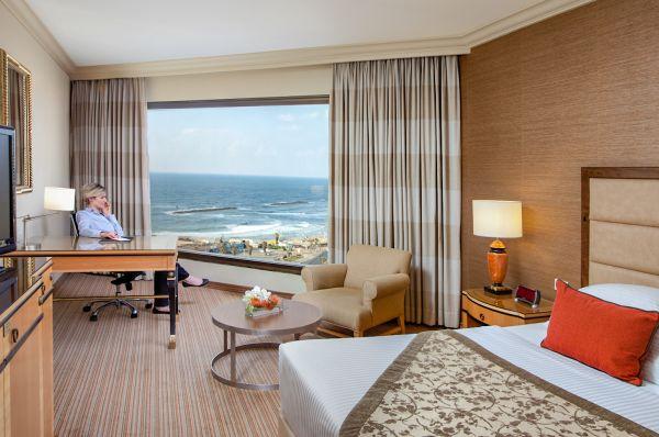 Отель делюкс Интерконтиненталь Давид в Тель Авив