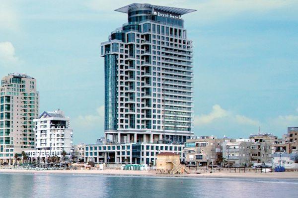 מלון 5 כוכבים ישרוטל רויאל ביץ בתל-אביב והמרכז
