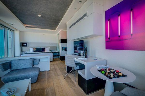 בית מלון ישרוטל רויאל ביץ 5 כוכבים בתל-אביב והמרכז - סטודיו גדול