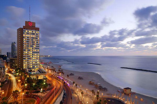 делюкс отель Шератон ТА энд Тауэрс Тель Авив