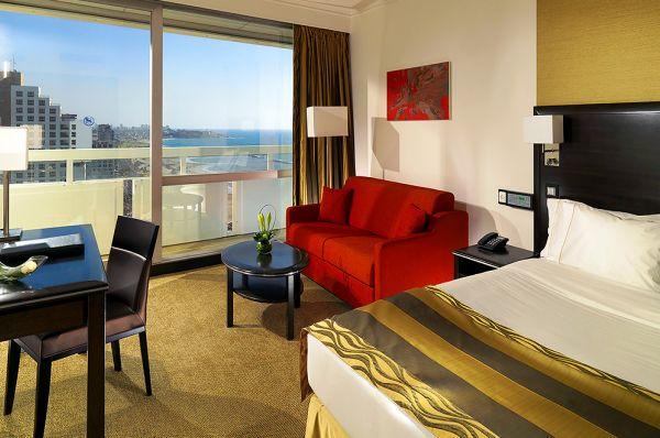 מלון 5 כוכבים שרתון תל-אביב והמרכז