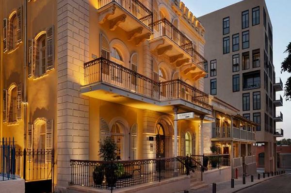 делюкс отель Дриско Тель Авив