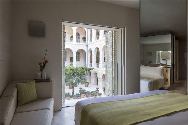 מלון דלוקס The Jaffa - חדר דלקס עם נוף לבריכה או לגן
