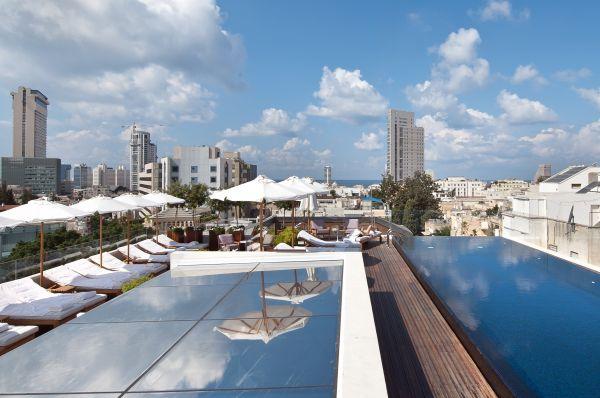 отель люкс Зе Норман 5 звезд Тель Авив