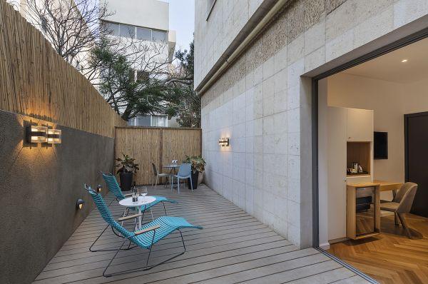 בית מלון אולימפיה בתל-אביב והמרכז - דלקס נוף לים