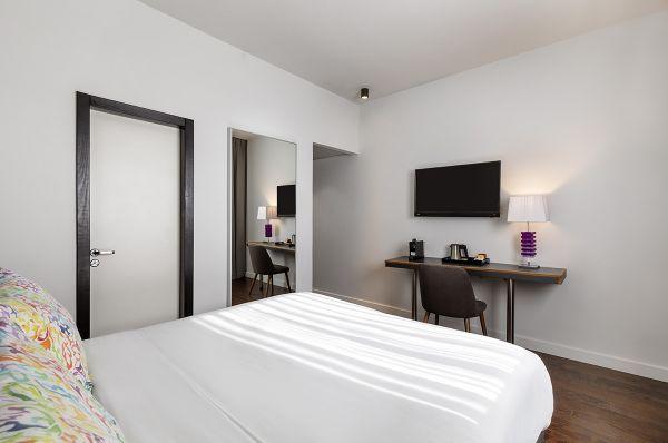 בית מלון אולימפיה ב תל-אביב והמרכז - סופיריור עם נוף חלקי לים