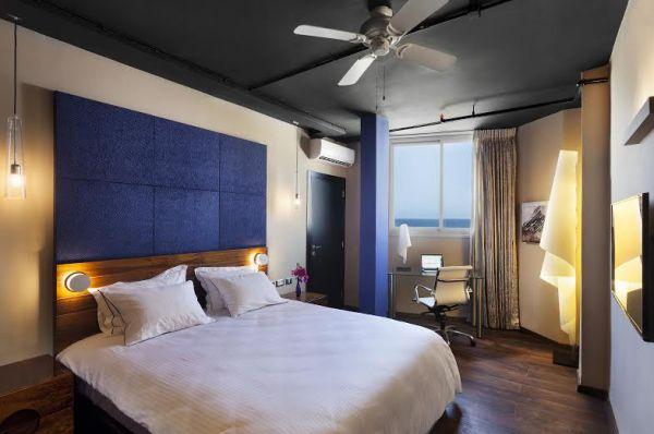 בית מלון פורט אנד בלו  ב תל-אביב והמרכז -  חדר דלקס