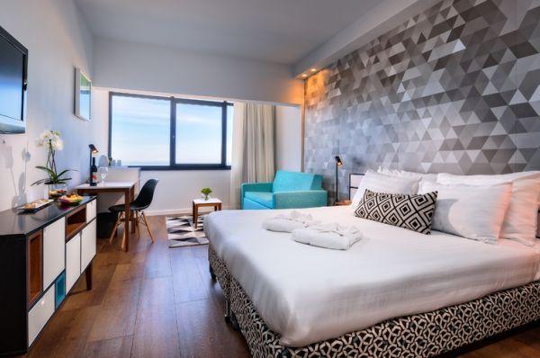 בית מלון פרימה ב תל-אביב והמרכז - חדר פונה לים