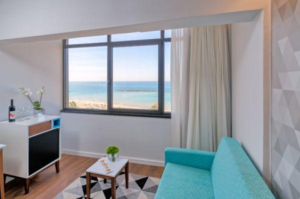 בית מלון פרימה - חדר פונה לים
