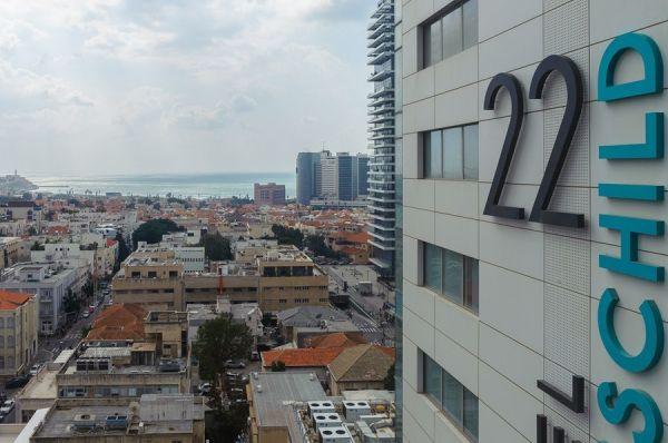 малон  Ротшильд 22 в  Тель Авив