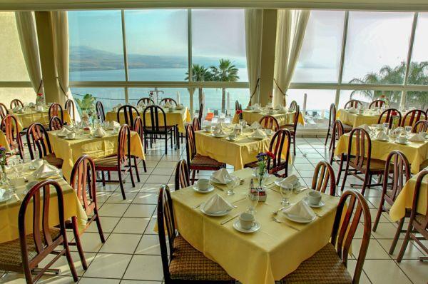 בית מלון טבריה, סובב כנרת ועמקים גולן