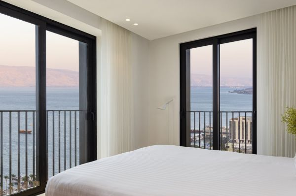 מלון דה לוקס סופיה בטבריה, סובב כנרת ועמקים