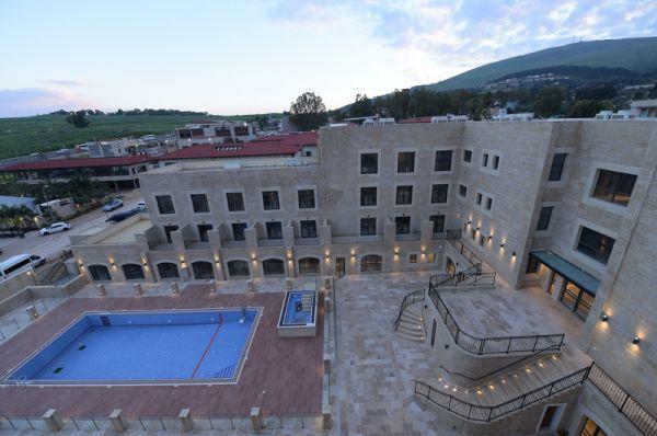 בית מלון  אדמונד גליל עליון והגולן