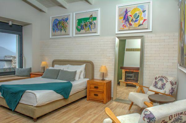 בית מלון רוזנטליס ב גליל עליון והגולן - דלקס נוף
