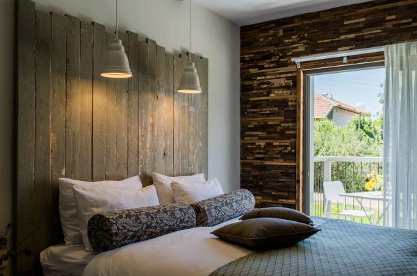 בית הארחה כפר הנופש תיירות עין זיוון לן בגולן גליל עליון והגולן - חדר כרמים