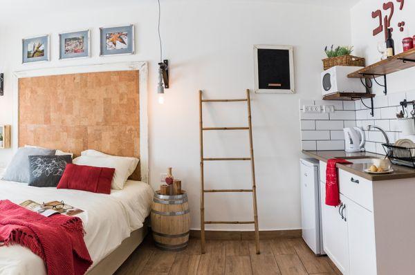 אירוח כפרי אורטל גליל עליון והגולן - חדר פרימיום