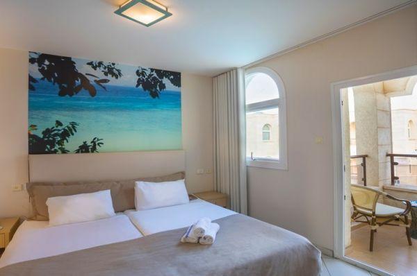 בית מלון חוף עכו ב גליל מערבי - חדר קלאסיק