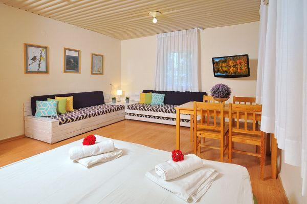בית מלון מטיילים אילון ב גליל מערבי - סטודיו משפחתי