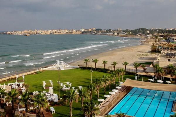בית מלון רימונים חוף התמרים גליל מערבי